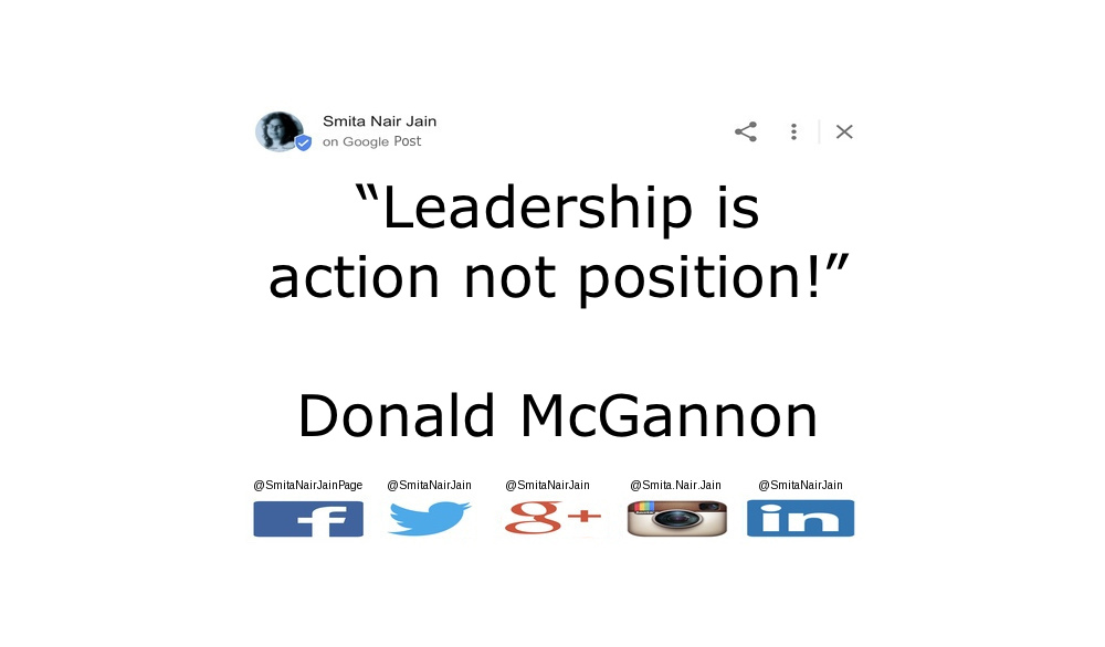 "SNJ: T-1880: THE POWER OF PARADIGMS (PAIR-A-DIMES) : Change Your Thoughts and You Change Your Actions https://goo.gl/posts/z5vPt ""Leadership is action not position!"" Donald McGannon #womenintech #womenindigital #thoughtleaders #tedxspeaker #technology #tech #success #strategy #startuplife #startupbusiness #startup #smitanairjain #mentor #leadership #itmanagement #itleaders #innovation #informationtechnology #Influencer #hightech #fintechinfluencer #fintech #entrepreneurship #entrepreneurs #economy #economics #development #copypaste #businessintelligence #believe"