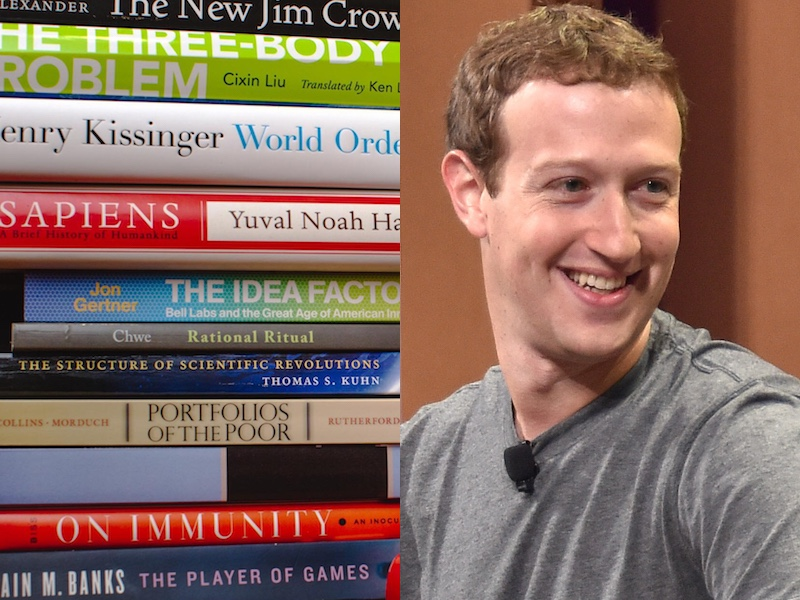 http://www.businessinsider.in/23-books-Mark-Zuckerberg-thinks-everyone-should-read/articleshow/51017162.cms