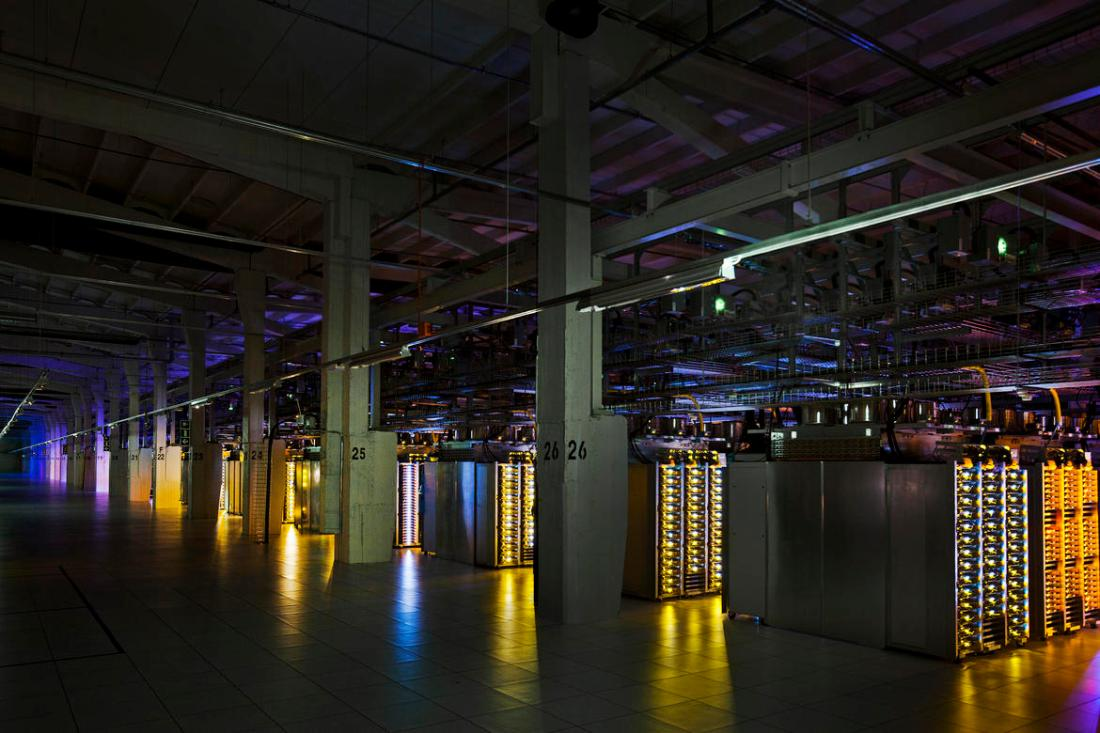 Google's datacenter in Hamina, Finland.