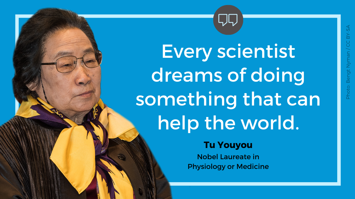 Every scientist dreams of doing something that can help the world